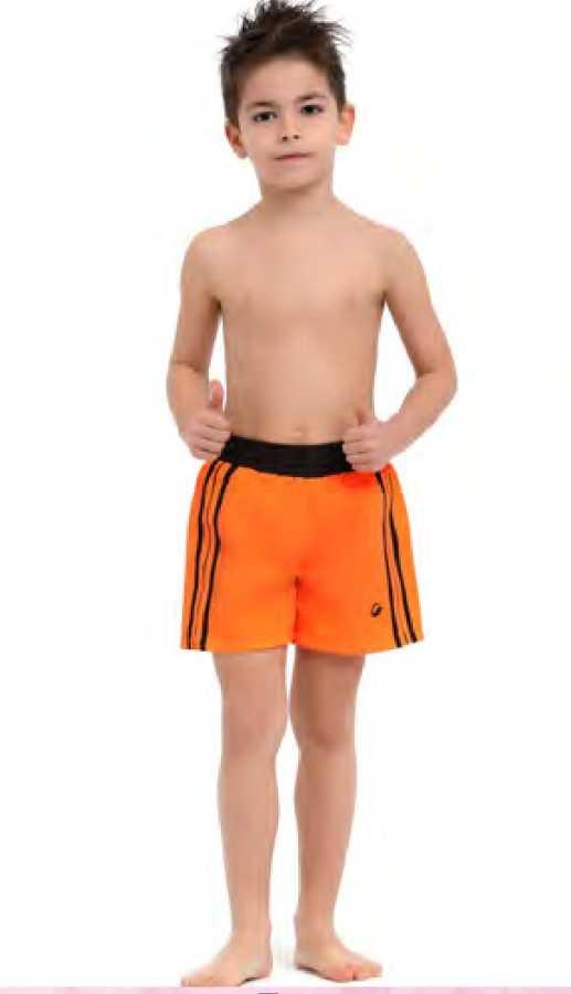 Erkek Çocuk Şort 1015 Neon Turuncu