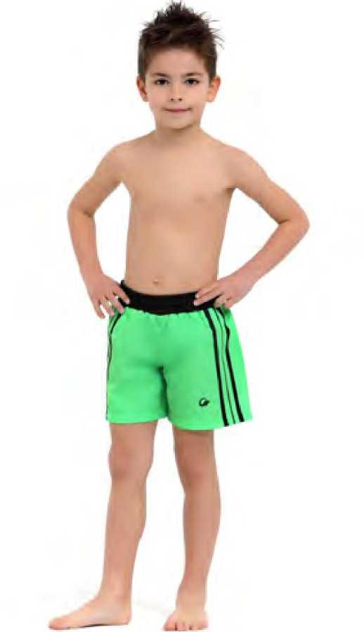 Erkek Çocuk Şort 1015 Neon Yeşil