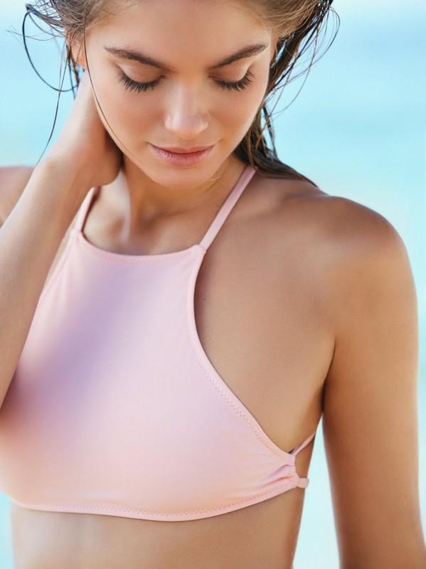 Şık Pembe Tankini Bikini Takım - Thumbnail