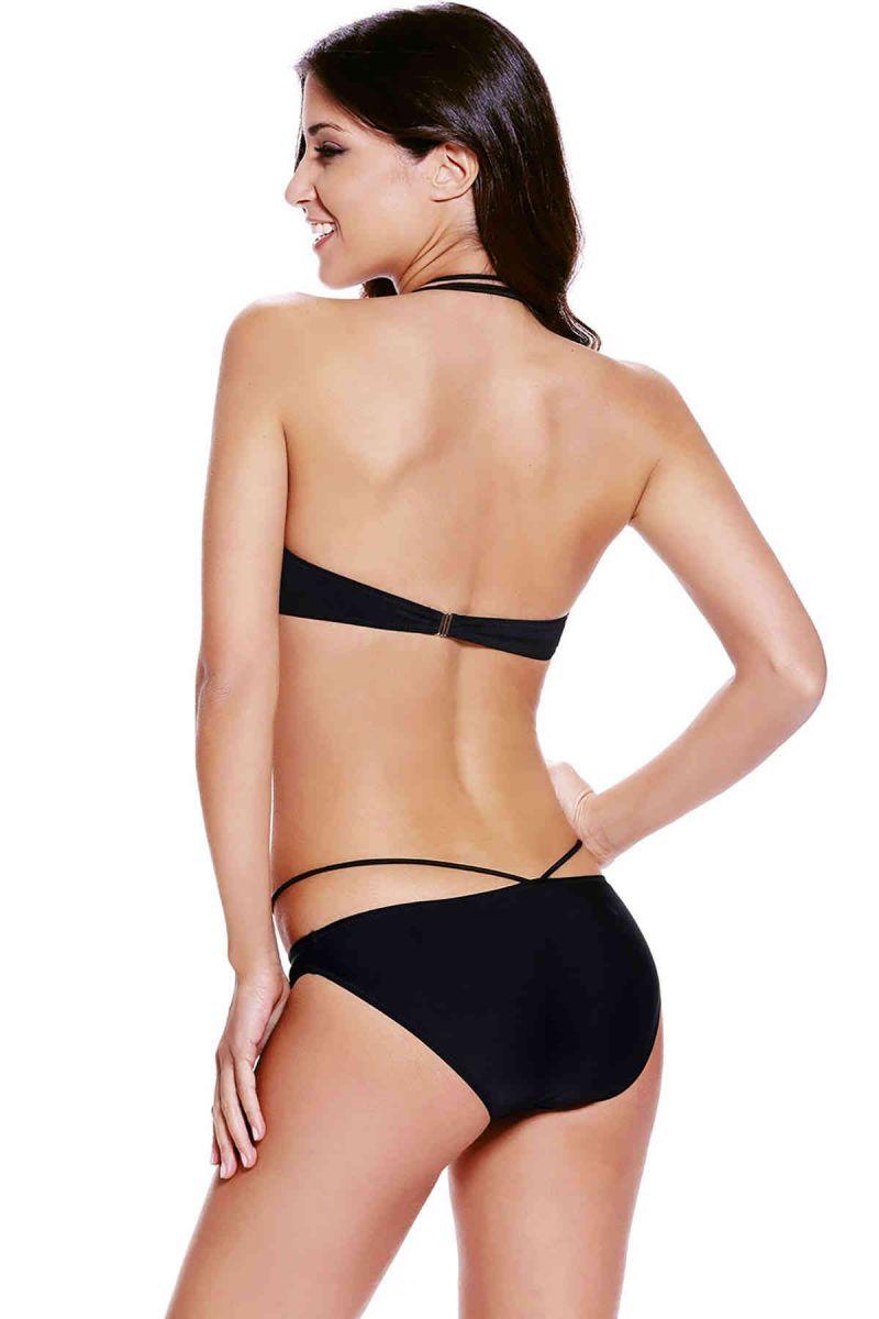 Siyah Süper Tasarım Bikini