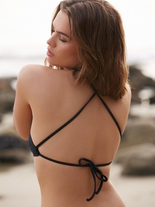 Şık Siyah Tankini Bikini - Thumbnail