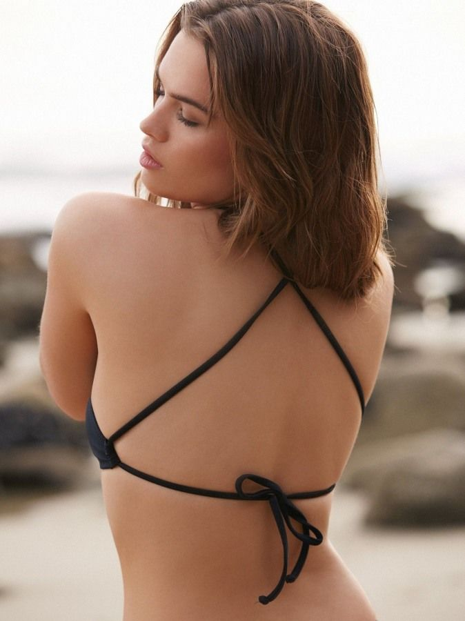 Şık Siyah Tankini Bikini