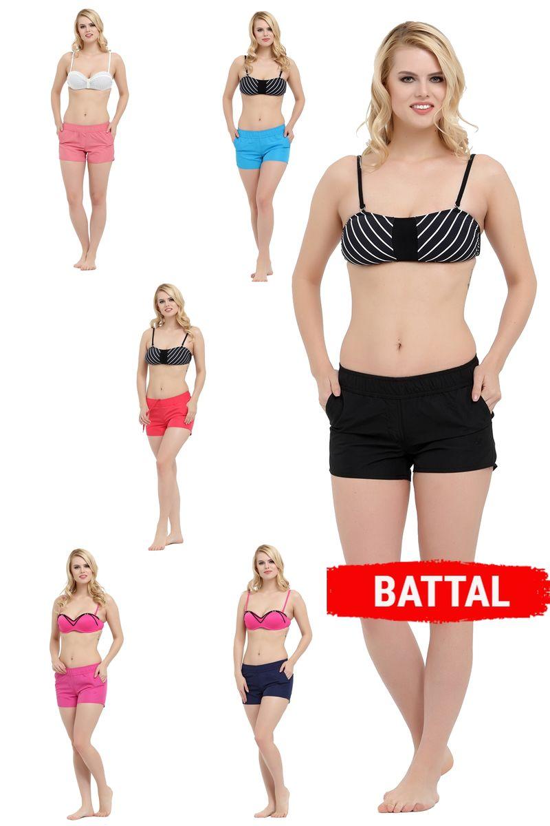 Battal Kadın Şort 01235